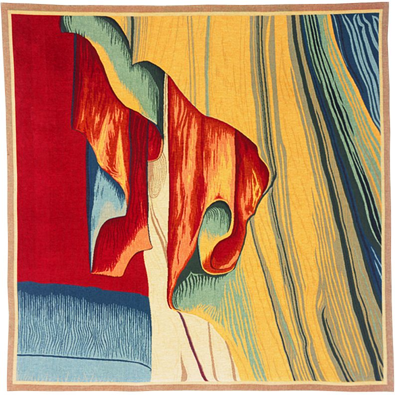 Drape De L'Ange Tapestry Throw - European Home Decor Collection, 57in x 57in