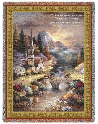 Early Service Tapestry Throw, 53in x 70in