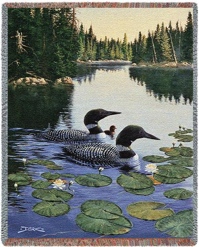 Enchanted Passage Tapestry Throw, 53in x 70in