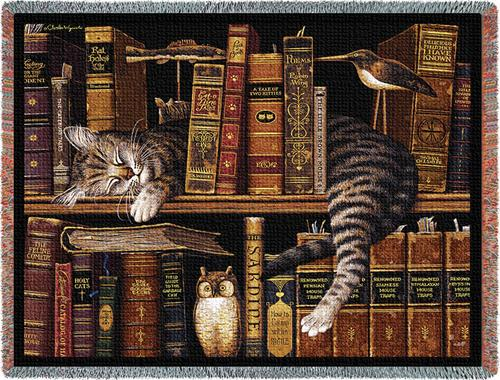 Frederick the Literate Tapestry Throw, 53in x 70in