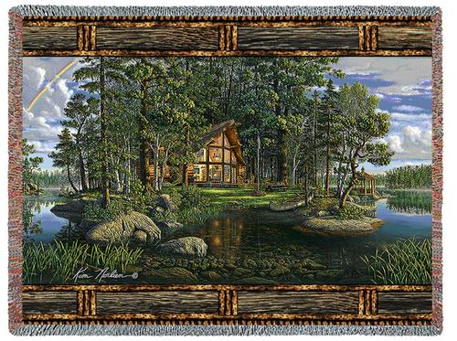 Freedoms Promise Tapestry Throw, 70in x 53in