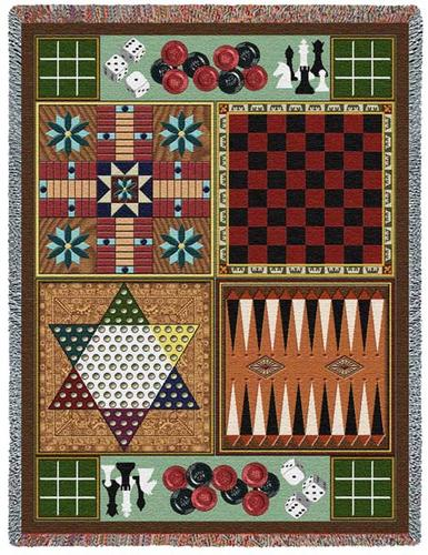 Game Boards Tapestry Throw, 53in x 70in