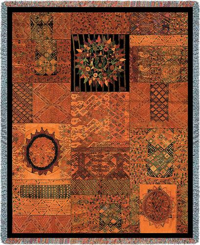 Guatemala Tapestry Throw, 54in x 70in