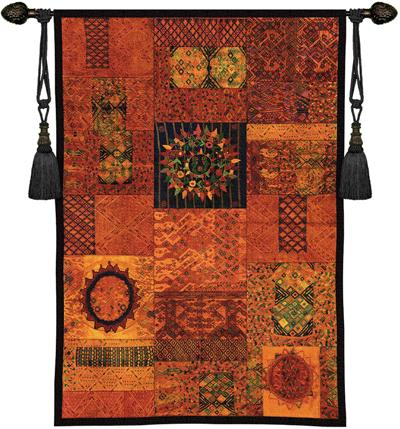 Asian Amp African Tapestry Wall Hangings