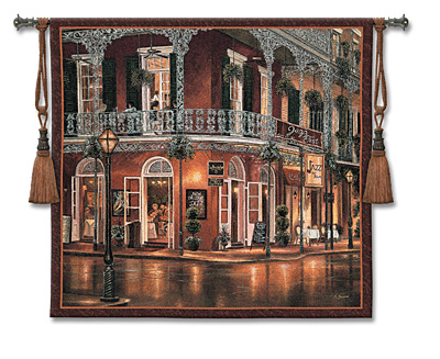 Jazz Du Jour Tapestry Wall Hanging, 53in X 53in