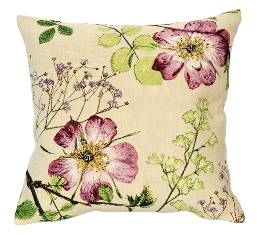 Jolie Mome Tapestry Cushion Cover - European Home Decor Collection, 18in x 18in cushion cover