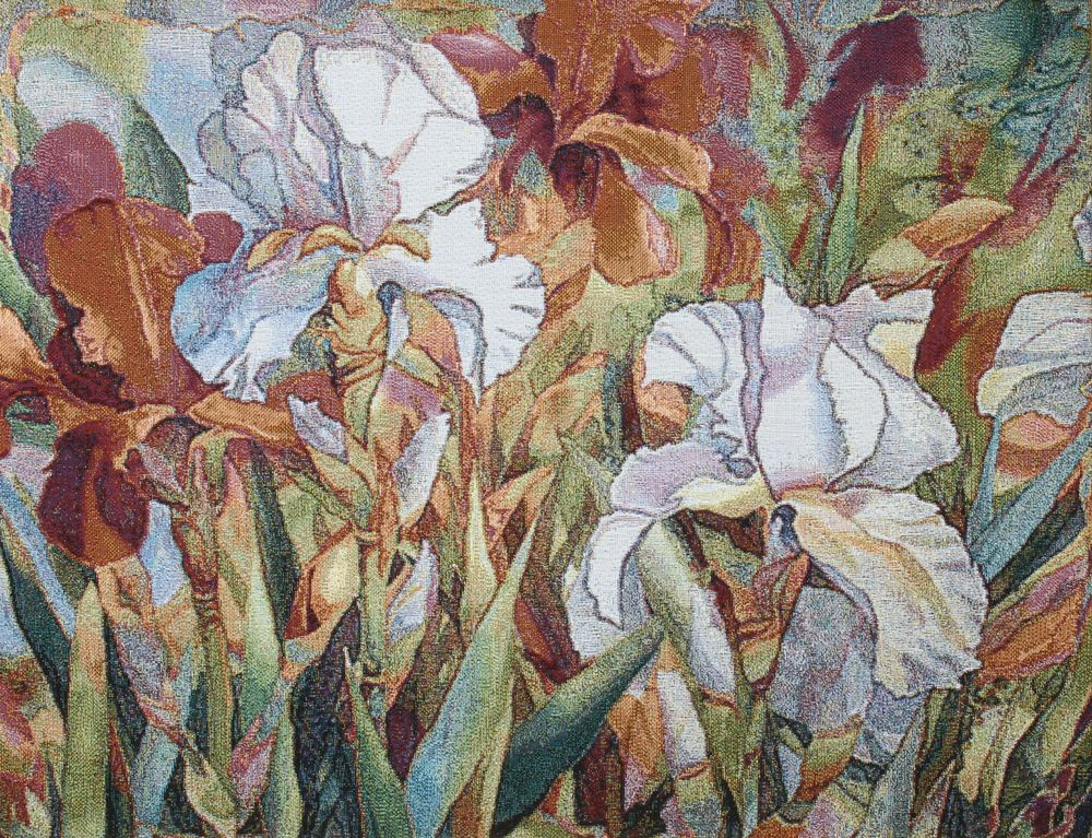 Floral Blossom Tapestry, H43.2in x W56.8in