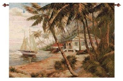 Key West Hideaway Tapestry Wall Hanging, 47