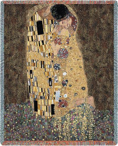 Kiss (The) Tapestry Throw, 54in x 70in