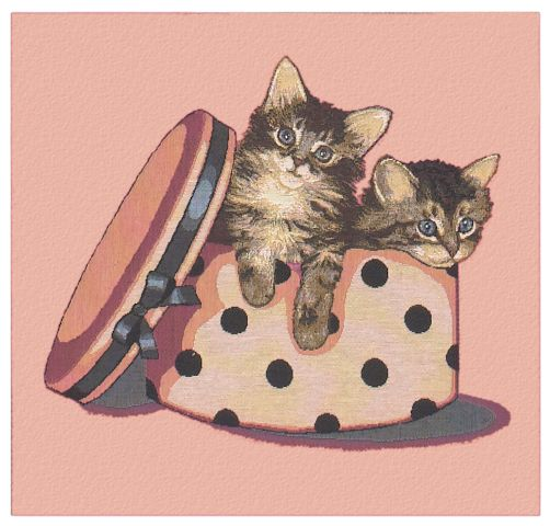 Kitty Mischief Cushion Cover, 18in x 18in