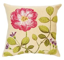 La Rosee Tapestry Cushion Cover - European Home Decor Collection, 18in x 18in cushion cover