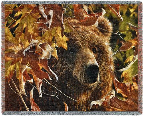 Legend of the Fall Tapestry Throw, 54in x 70in