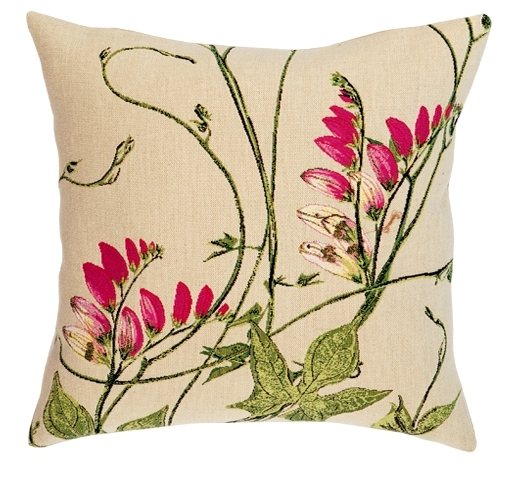 Les Inseparables Tapestry Cushion Cover - European Home Decor Collection, 18in x 18in cushion cover