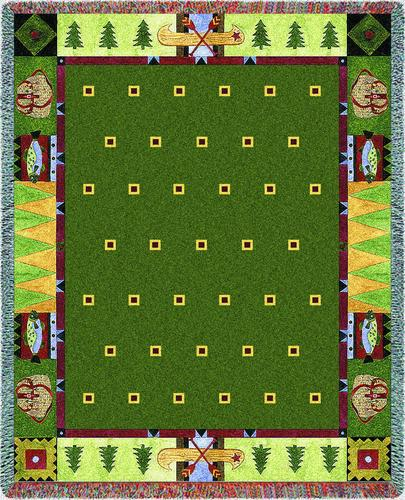 Lodge Creek Tapestry Throw, 53in x 70in