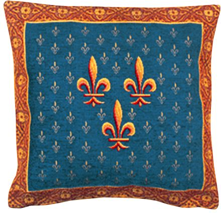 Louis Tapestry Cushion Cover - European Home Decor Collection, 18in x 18in cushion cover