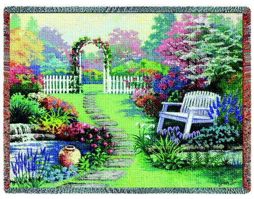 Loved One (no words) Tapestry Throw, 53in x 70in
