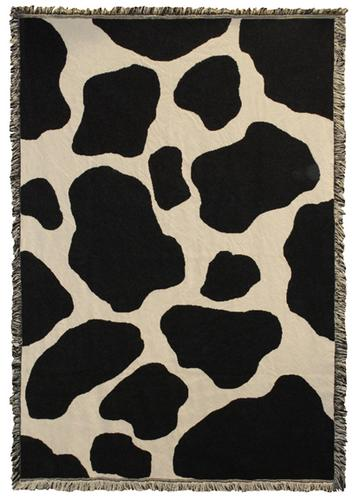 Moo Tapestry Throw, 48in x 69in