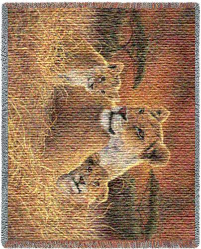 Motherly Tapestry Throw, 70in x 53in