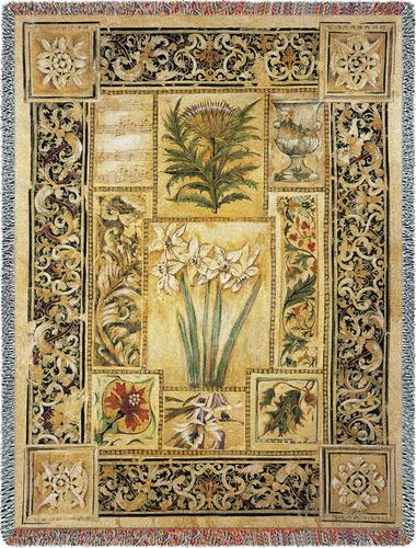 Music in the Garden Tapestry Throw, 54in x 70in