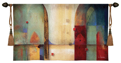 Orchestration Modern Tapestry Fine Art Picture, 45in x 26in