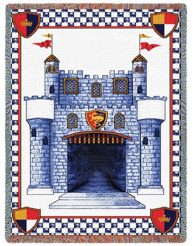 Our Prince Tapestry Throw, 53in x 70in