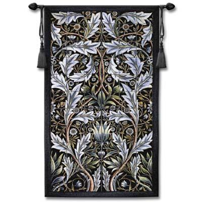 Panel of Tiles Ornamental Wall Tapestry, 31in x 53in