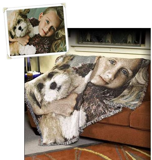 Turn Your Photo Into A Tapestry Throw, 70in X 53in