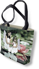Turn Your Photo Into A Tapestry Tote Bag, 14in X 16in