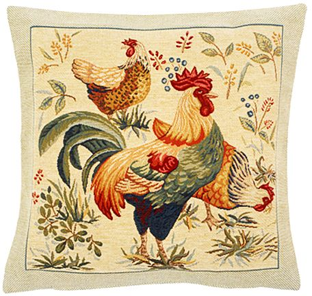 Picota Tapestry Cushion Cover - European Home Decor Collection, 18in x 18in cushion cover
