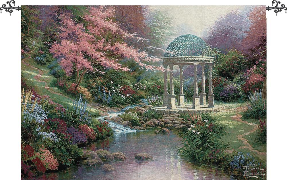 Pools of Serenity Tapestry Wall Hanging, H70in x W50in