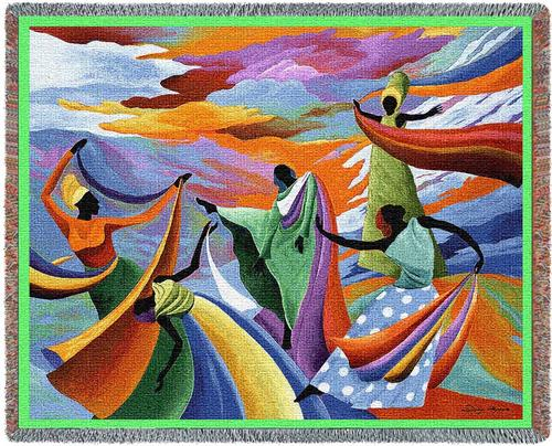 Skydancer Tapestry Throw, 70in x 54in