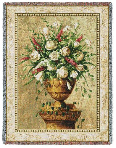 Spring Expression Tapestry Throw, 54in x 70in