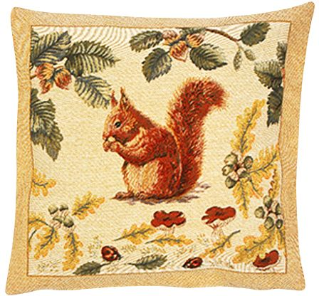 Tac Tapestry Cushion Cover - Animal Home Decor Collection, 18in x 18in cushion cover