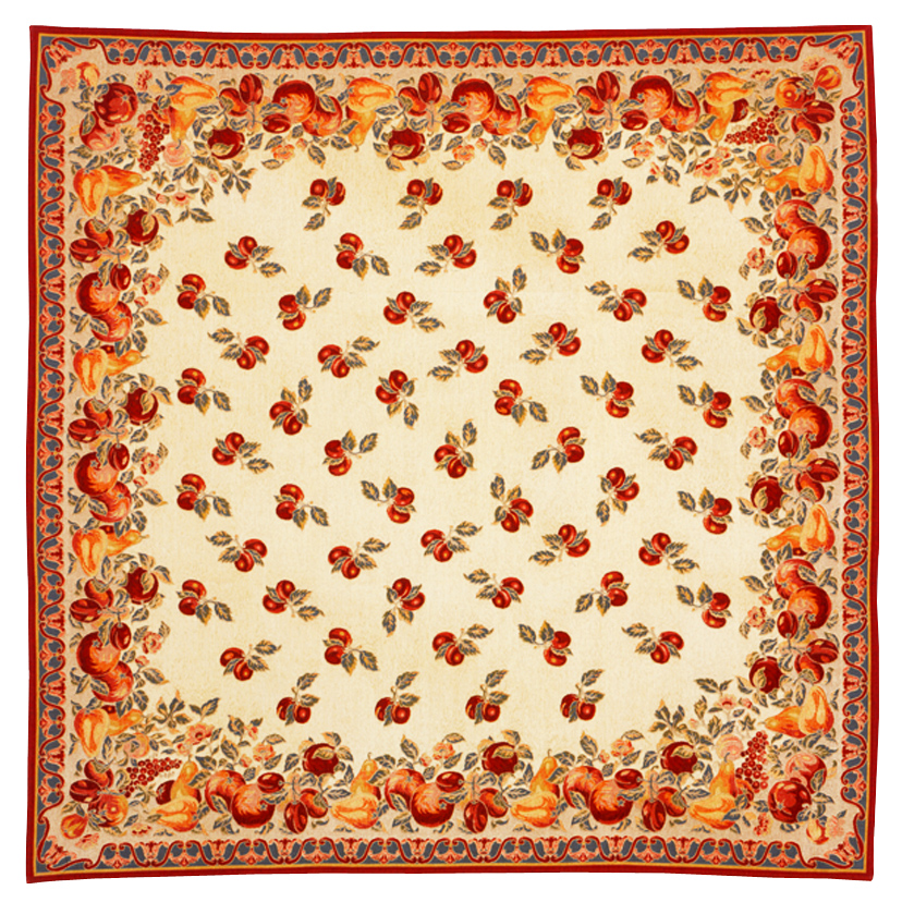 Tutti Frutti Tapestry Throw - European Home Decor Collection, 57in x 57in