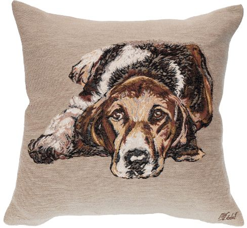 Ulysse Tapestry Cushion Cover - Pets Home Decor Collection, 18in x 18in cushion cover