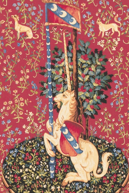 Unicorn Tapestry Wallhanging Tapestry, 30in x 18in