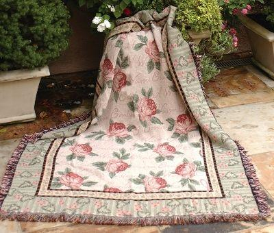 Warm Embrace Tapesty Throw, 50in x 60in