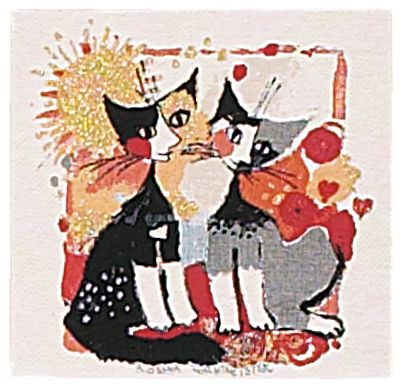 With Love Cushion Cover, 14in x 14in