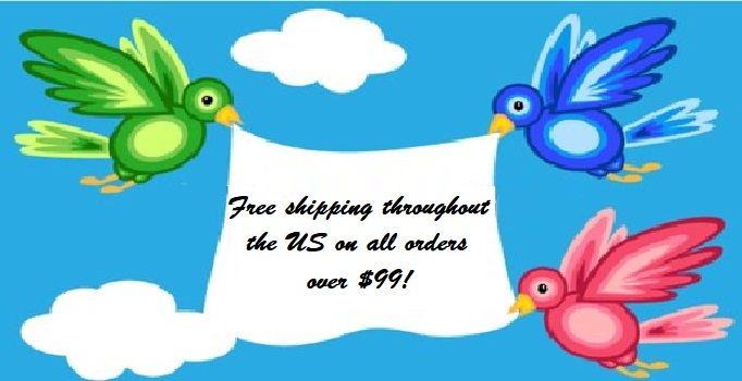 Get Free Shipping on orders of $99.00 or more!