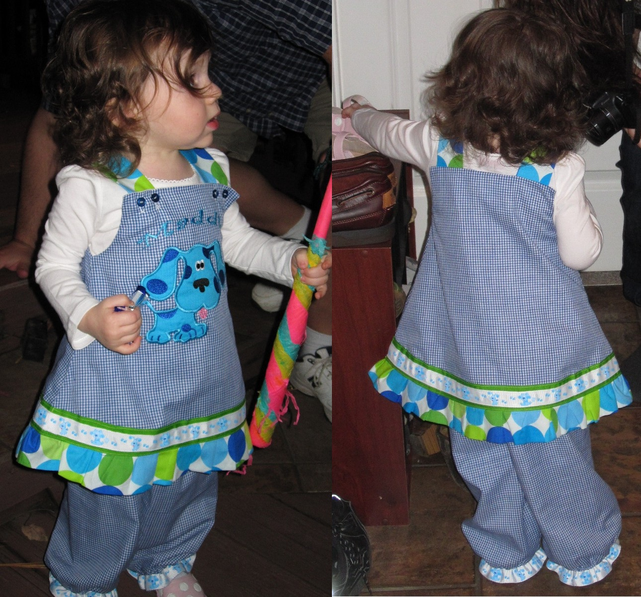 Blues Clues Birthday Outfit