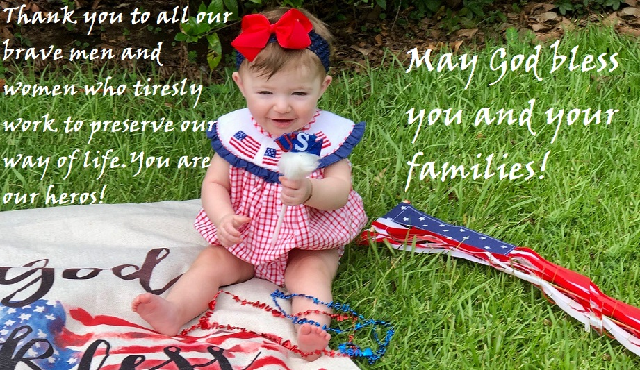 Thank you to our military heros!