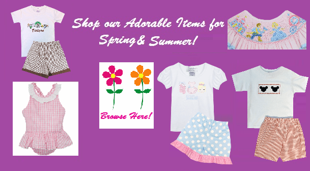 Shop our precious Easter Heirloom Dresses and Outfits for Babies, Girls and Boys!