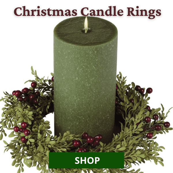Shop All Christmas Candle Rings