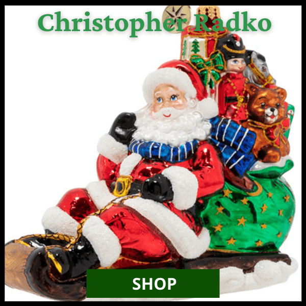 Shop Christopher Radko Ornaments