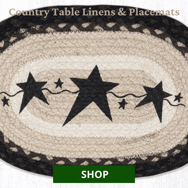 Shop All Country Table Linens & Placemats
