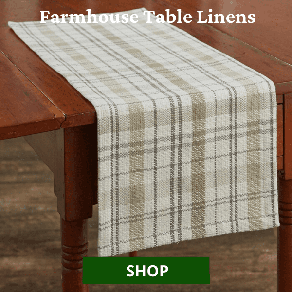 Shop All Farmhouse Table Runners & Placemats
