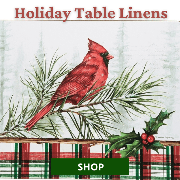 Shop All Holiday Table Runners & Placemats