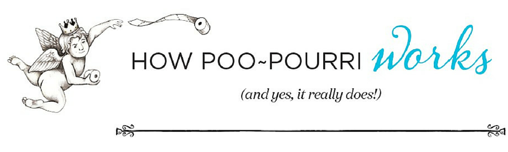 How Poo~Pourri Works