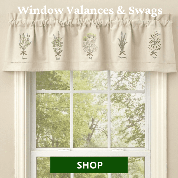 Shop All Window Valances & Swags