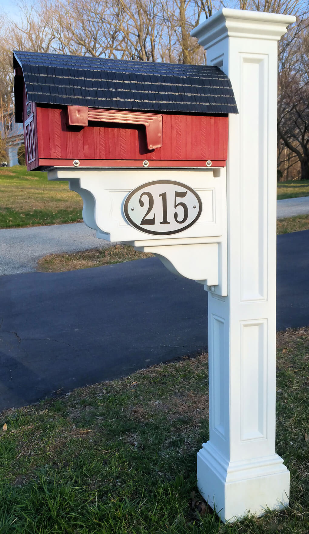 Reflective Address Sign